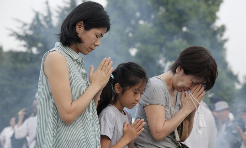 La commemorazione del 70esimo anniversario di Hiroshima