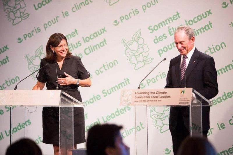 Hidalgo e Bloomberg