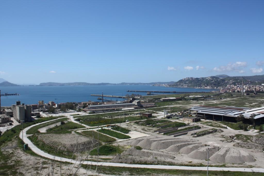 Foto dell'area di Bagnoli