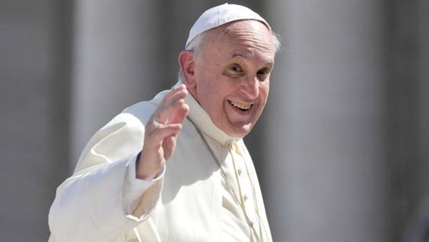 Un'immagine di papa Francesco