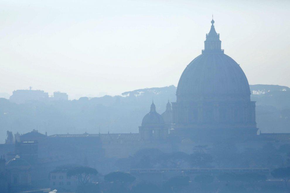 L'immagine della Cupola di San Pietro a Roma
