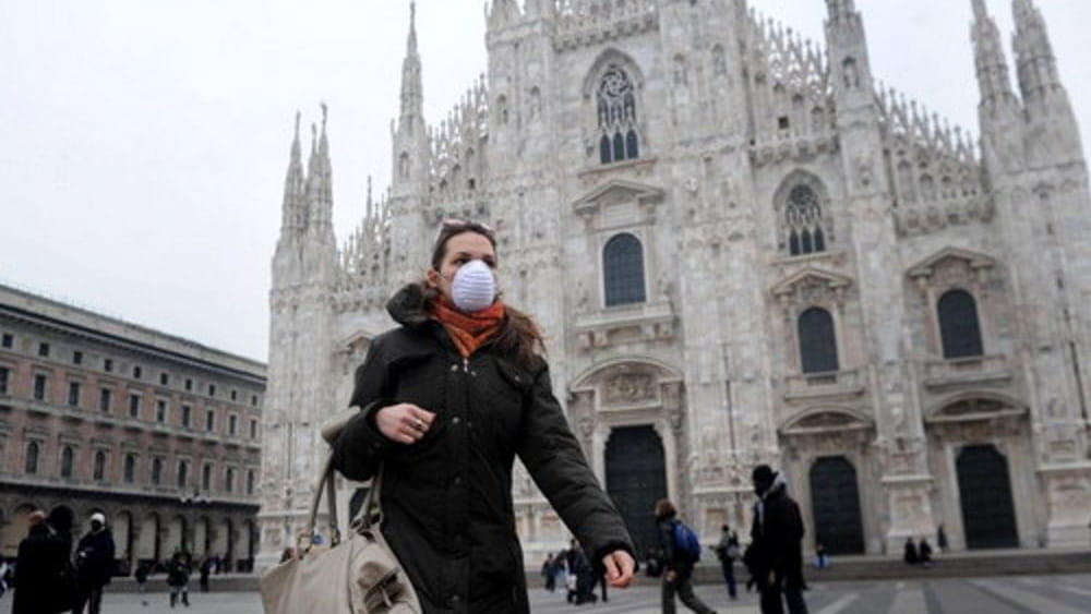 smog in Lombardia