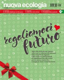 Copertina della Nuova Ecologia di dicembre 2017