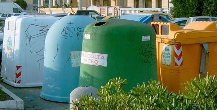 La raccolta differenziata in Italia