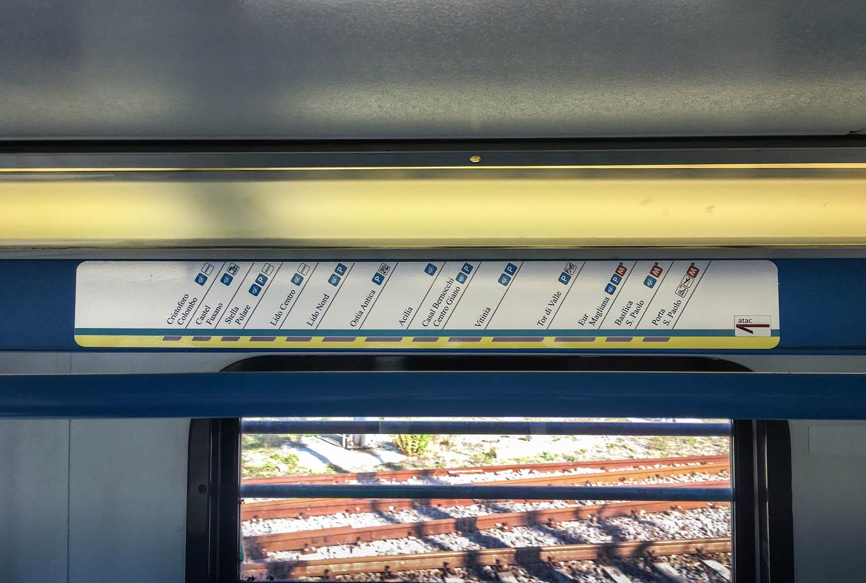 Le stazioni sono 13
