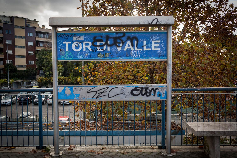 Tor di Valle, la stazione