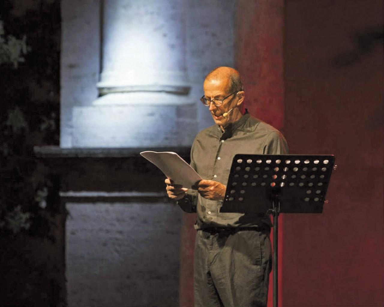 Marco Baliani in scena