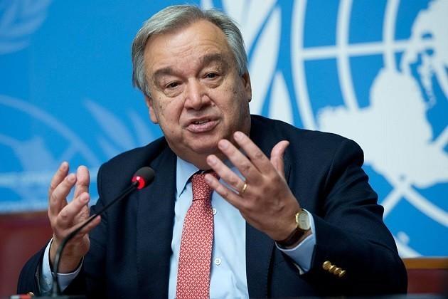 foto di Antonio Guterres