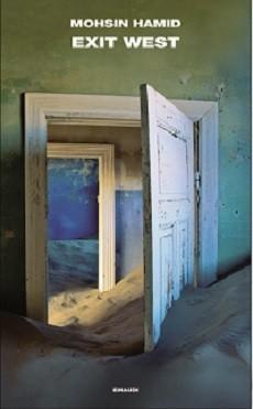 """immagine della copertina di """"Exit West"""""""