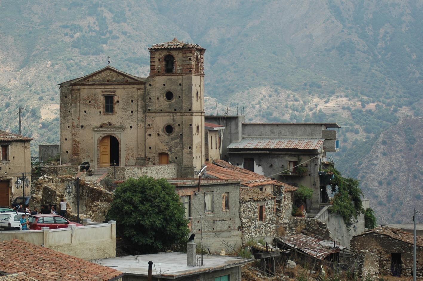 foto della chiesa ortodossa a Gallicianò