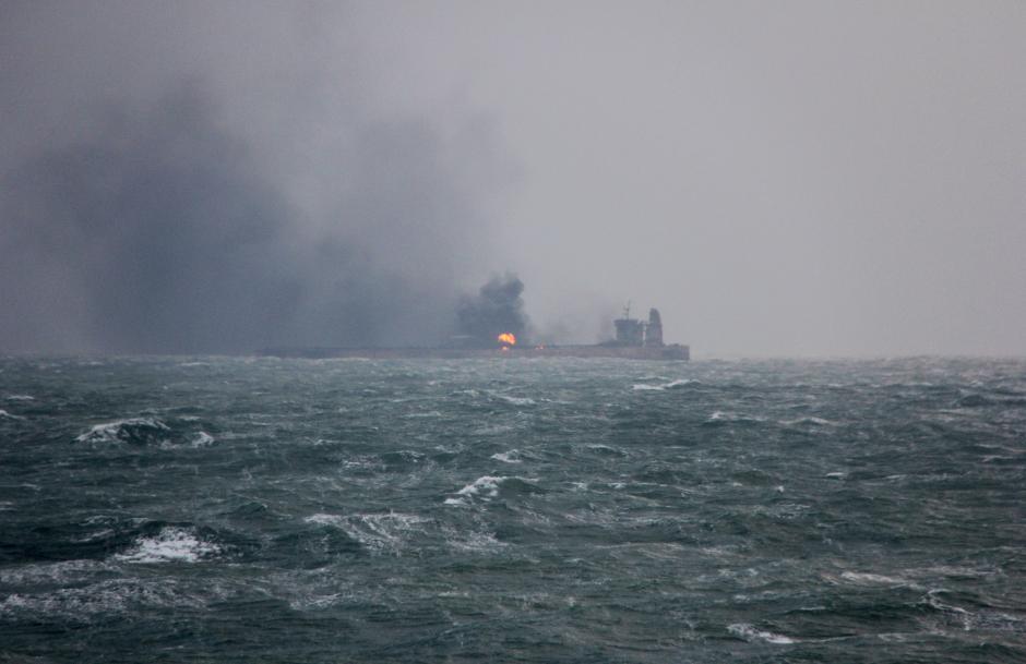 L'incidente tra la petroliera iraniana e una nave