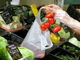 foto di sacchetto per imbustare la fruta