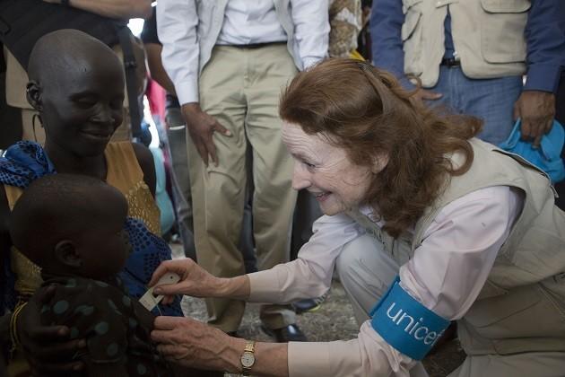 foto di intervento umanitario in Sud Sudan
