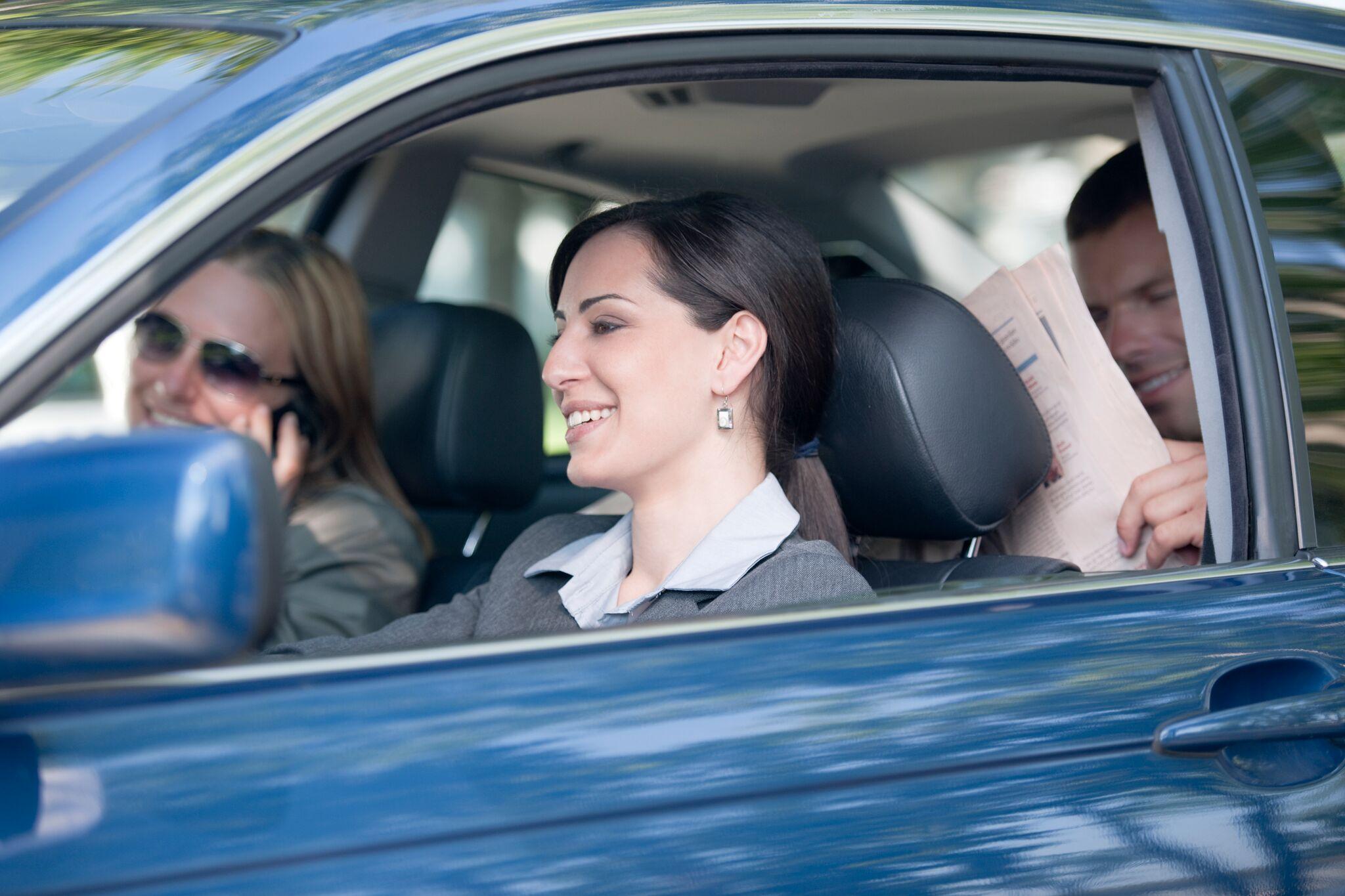 Colleghi In Auto