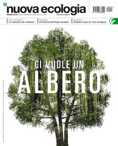 Copertina Nuova Ecologia marzo 2018