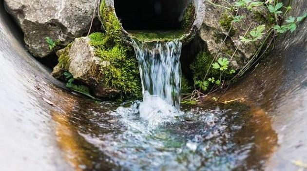 immagine di acque di scarico