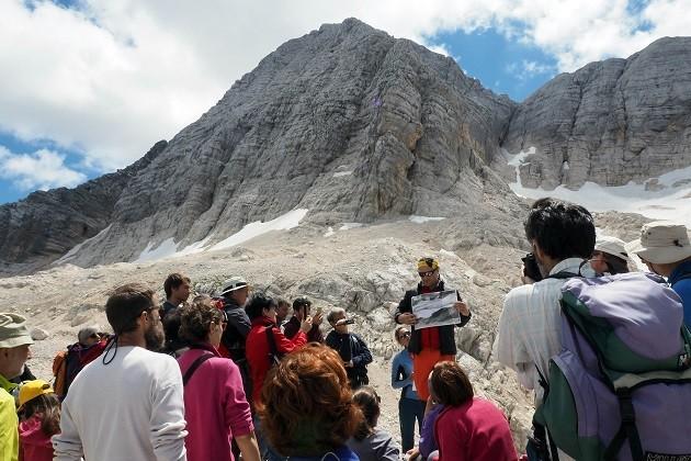 foto di escursione sul Monte Canin
