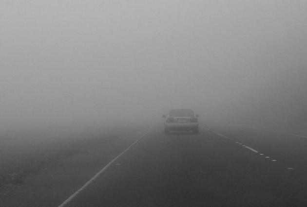 immagine di nebbia nella pianura padana