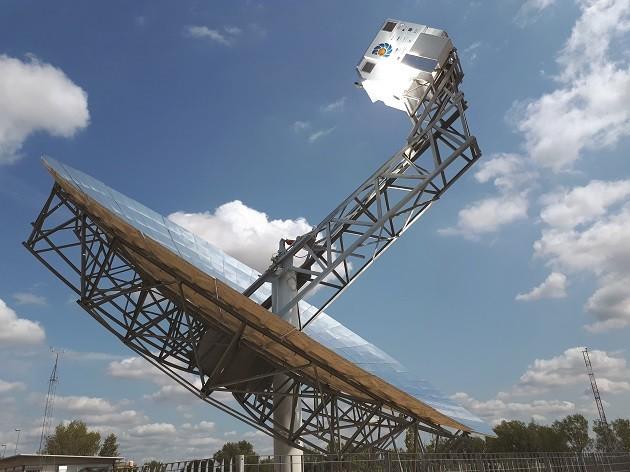 Immagine dell'impianto dell'Enea