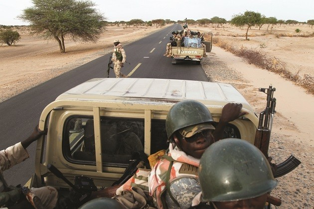 immagine di soldati nigeriani