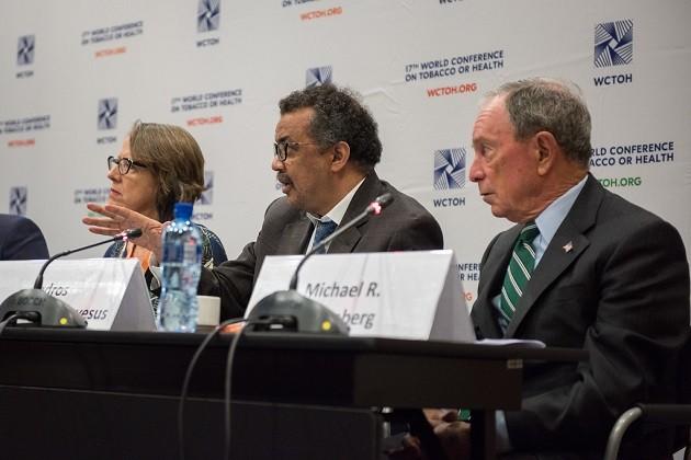 """un'immagine della XVII Conferenza mondiale """"Tabacco o salute"""""""