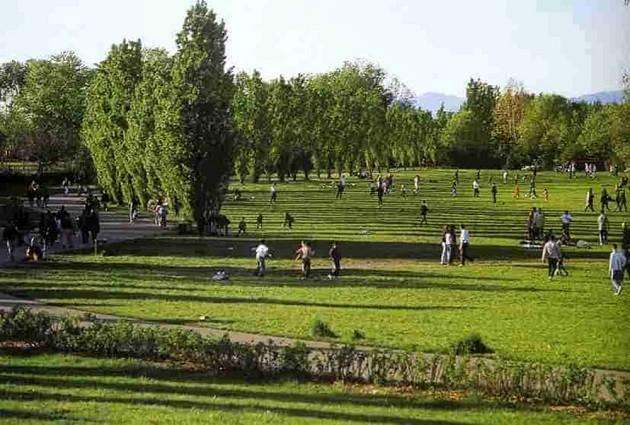 immagine di un parco a Milano