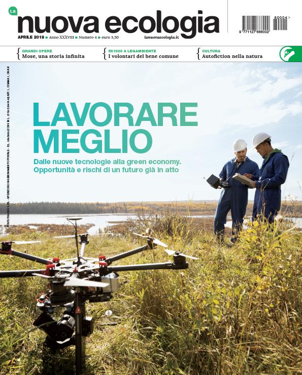 Copertina La Nuova Ecologia Aprile 2018