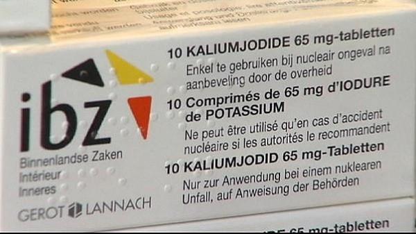 immagine di una confezione di pillole di iodio da assumere in caso di catastrofe nucleare
