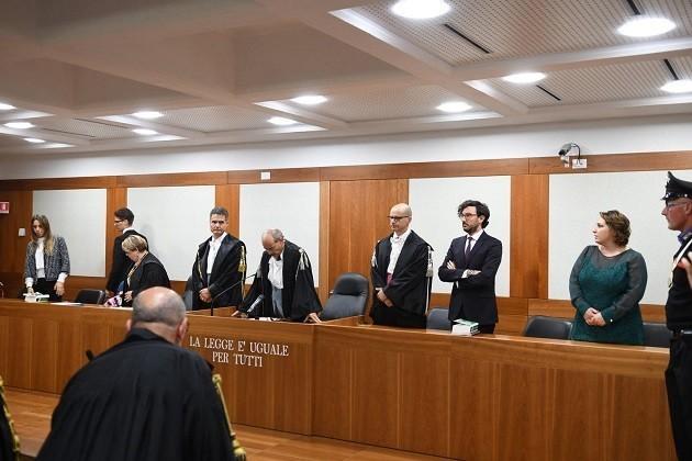 immagine di un'aula di tribunale