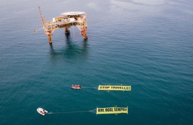 Stop Trivelle, Greenpeace