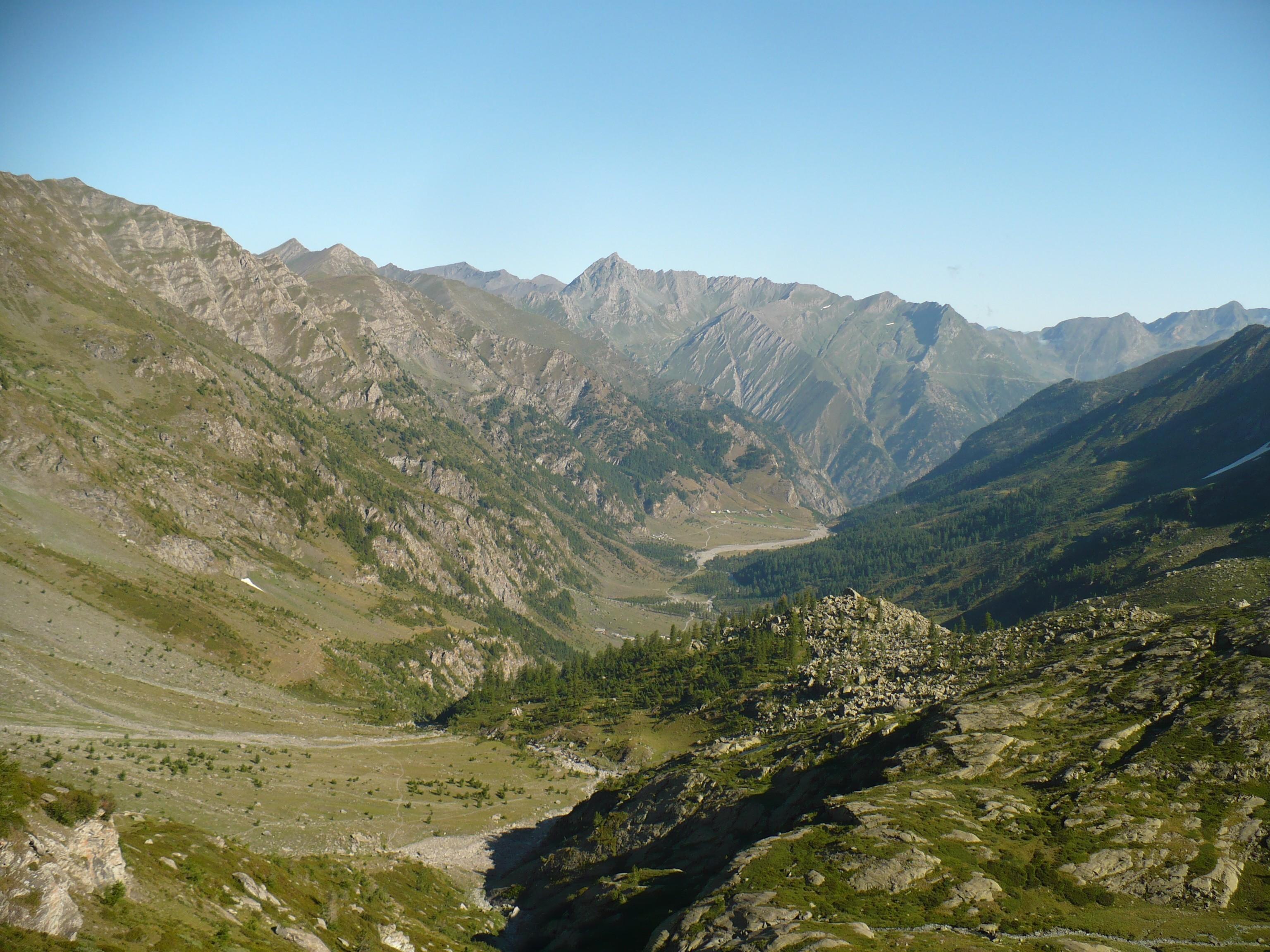 foto della Val Pellice