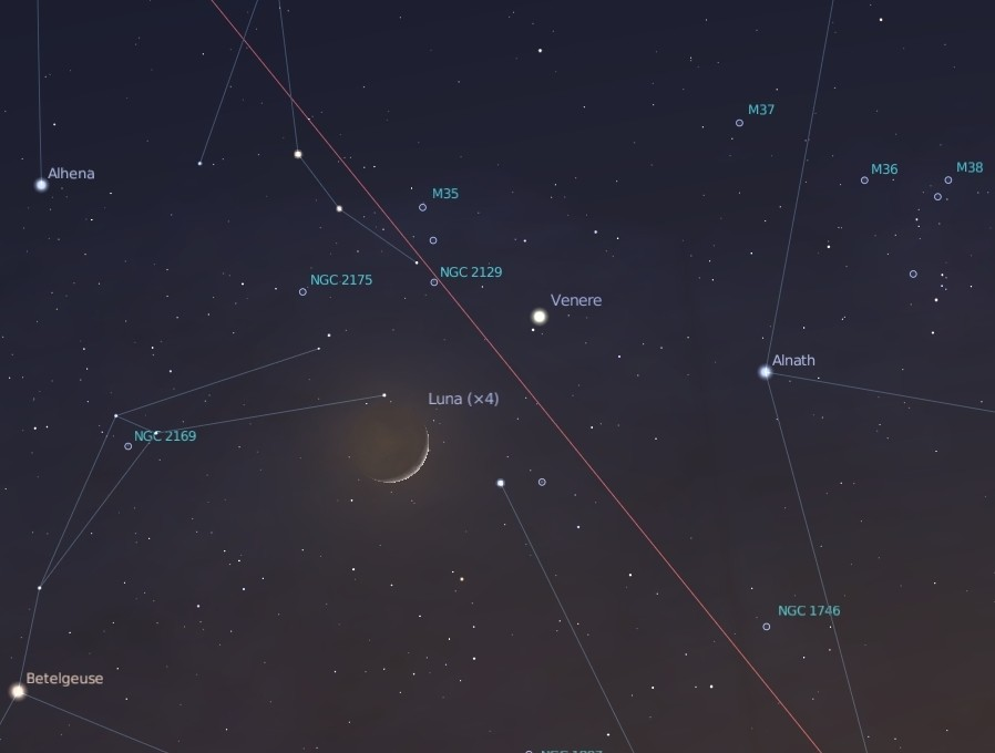 17 Maggio Luna Venere