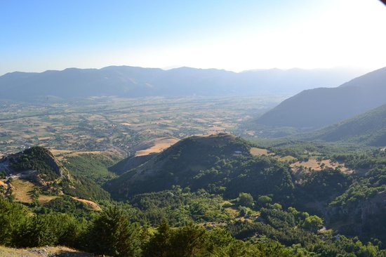 Foto della Val d'Agri