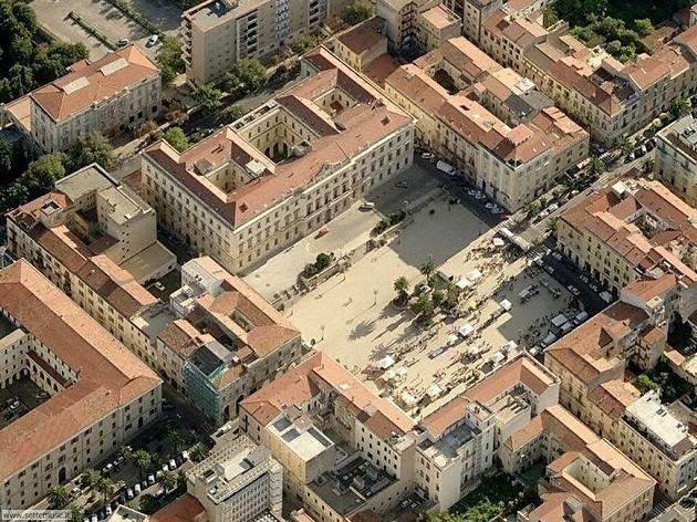 immagine aerea di Sassari