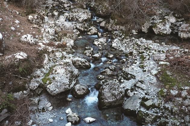 un'immagine dell'Alberone, affluente del Natisone