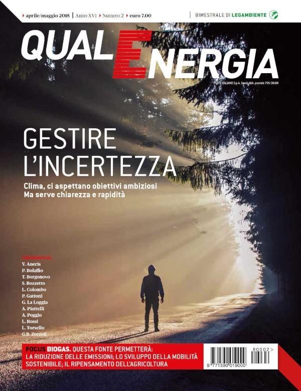 Copertina Qualenergia 2 2018