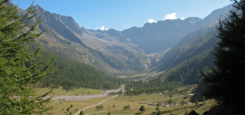 Val Pellice, trekking nei sic