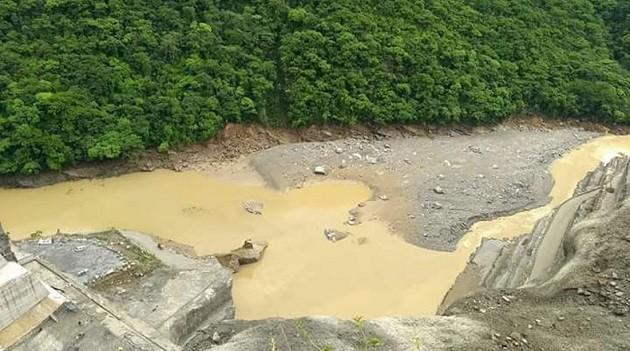 immagine della diga di Hidroituango, in Colombia