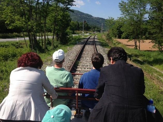 foto della maratona Ferrovia
