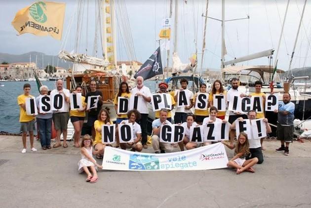 immagine dei volontari di Legambiente