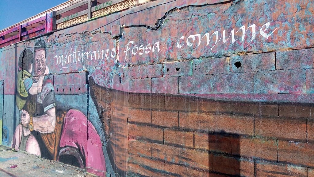 Murales Mediterraneo Fossa Comune