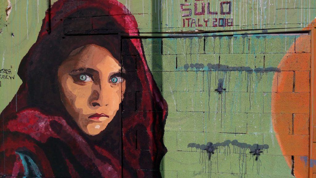 Murales Steve Mc Curry