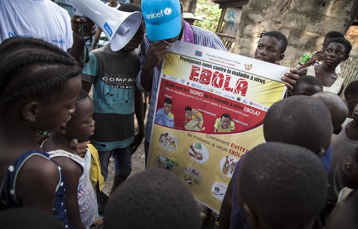 Ebola Unicef Rep. Dem. Congo