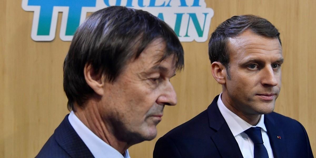Nicolas Hulot dimissioni