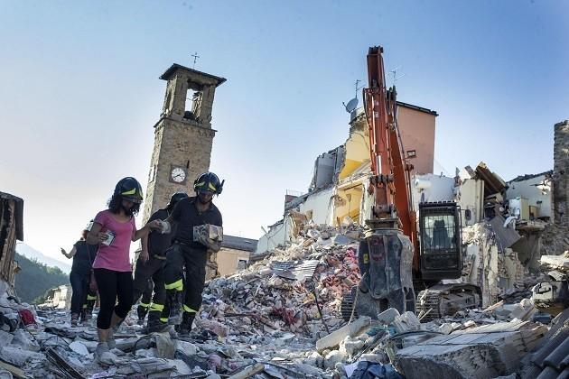 Terremoto Amatrice Centro Italia