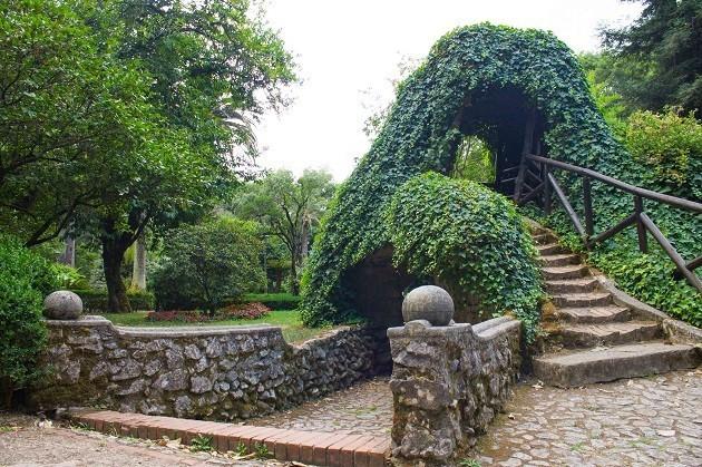 foto della Villa Carlo Ruggiero a Cittanova (Rc)
