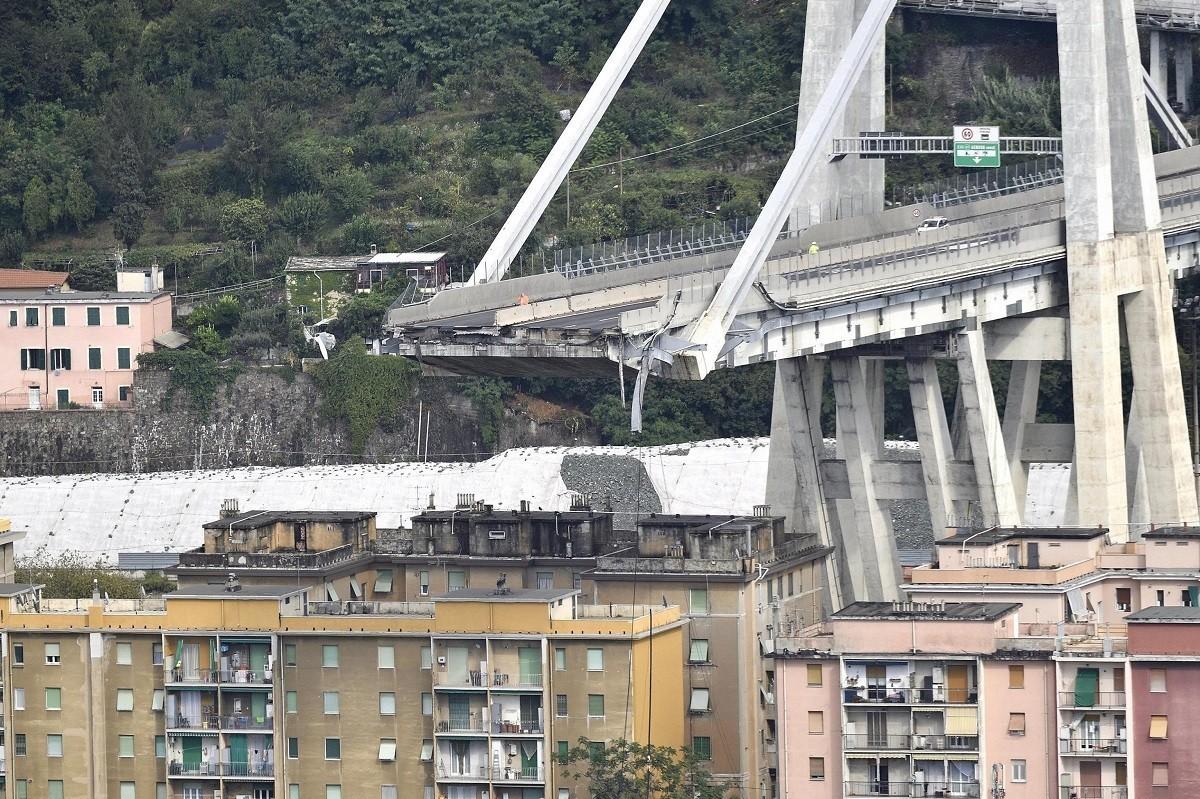 Crollo Ponte Genova Autostrade per l'Italia