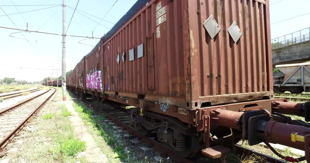 treno dei rifiuti