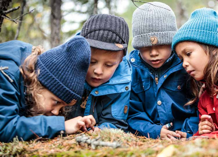 Im Svezia, a Scuola Con La Natura