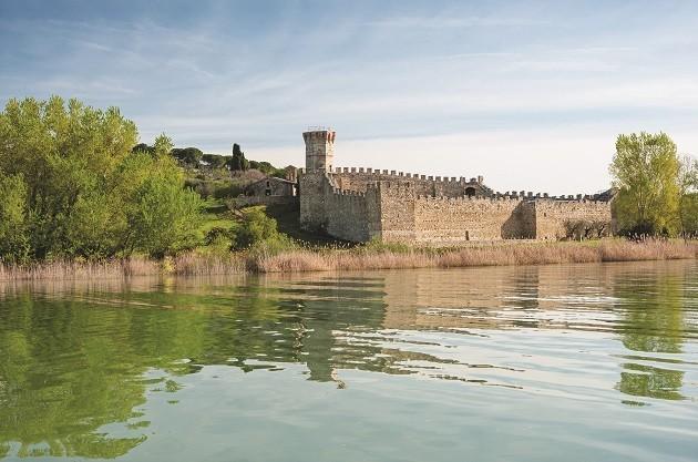 foto del Castello Polvese